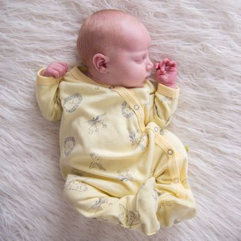 Woodland Sunshine Sleepsuit