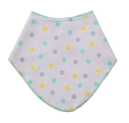 Acorn Dot Dribble Bib