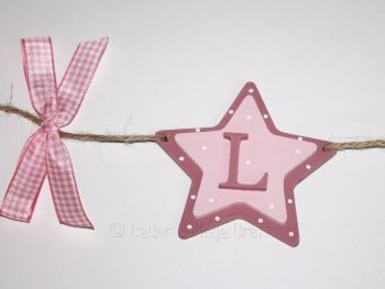 Personalised Double Star Bunting
