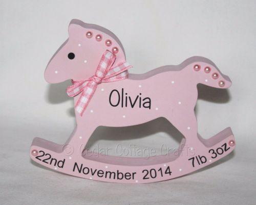 Personalised Rocking Horse