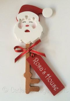 Personalised 3D Magic Santa Key