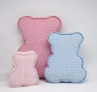 Fabric Covered Padded Teddy Bears