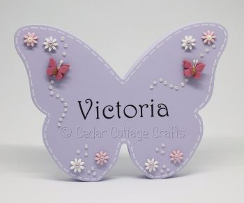 Personalised Freestanding Butterfly