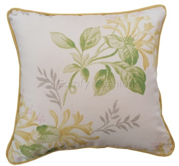 Laura Ashley Honeysuckle Trail Camomile cushion covers