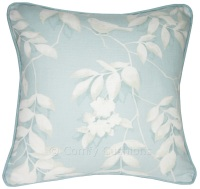 Laura Ashley Lockwood Duck Egg cushion covers
