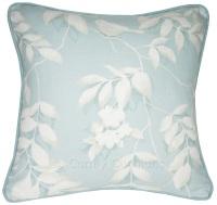 Laura Ashley Lockwood Duck Egg cushion covers