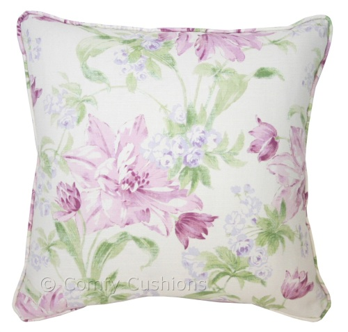 Laura Ashley Sherbourne Plum cushion covers
