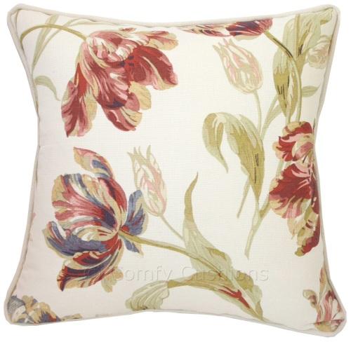 Laura Ashley Gosford Paprika cushion cover