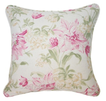 Laura Ashley Sherbourne Pink cushion covers