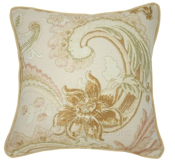 Laura Ashley Baroque Gold cushion covers