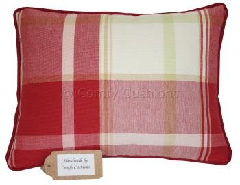 Laura Ashley Buxton Scarlet cushion