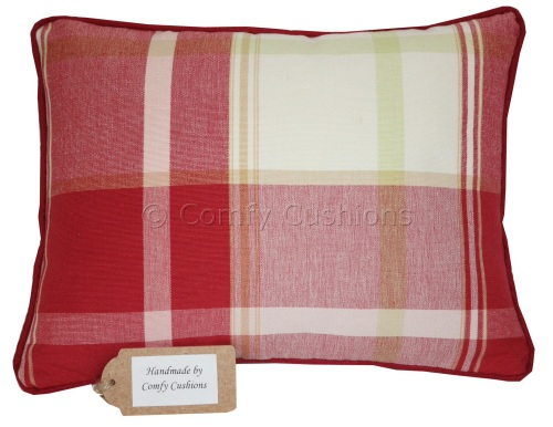 Laura Ashley Buxton Scarlet cushion