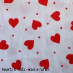 Hearts & Dots- Red on White copy