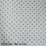 Polka Dots - Blue on Ivory copy
