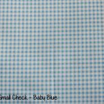 Small check - Baby Blue copy
