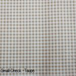 Small Check - Taupe copy