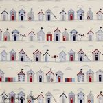 Beach Huts - Red copy