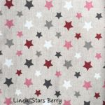 Linen Stars Berry copy