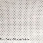 Micro Dots - Blue on White copy