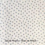 Small Hearts Blue on White copy