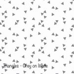 Triangles grey on white copy
