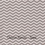 Chevron Narrow  - Taupe