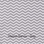 Chevron Narrow- Grey