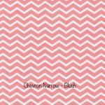 Chevron Narrow - Blush