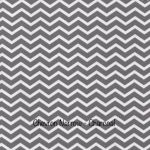 Chevron Narrow - Charcoal