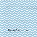 Chevron Narrow - Pale Blue