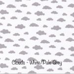 Clouds - White:pale Grey