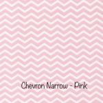 Chevron Narrow - Pink