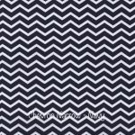 Chevron Narrow - Navy