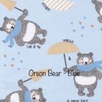 Orson bear - Blue