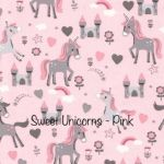 Sweet Unicorns - Pink