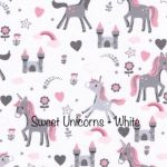 Sweet Unicorns - White