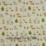 Woodland Fox & Owls