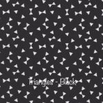 Triangles - Black