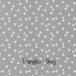 Triangles - Grey