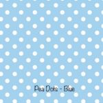 Pea Dots - Blue