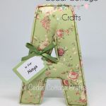A - Vintage Roses - Green