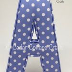 A - Dots Powder Blue