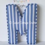 M - Powder Blue Stripe