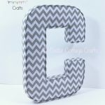C - Ex large - Chevron Grey