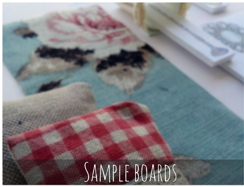 interior design -sample boards