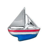 Boat Floating Locket Charm
