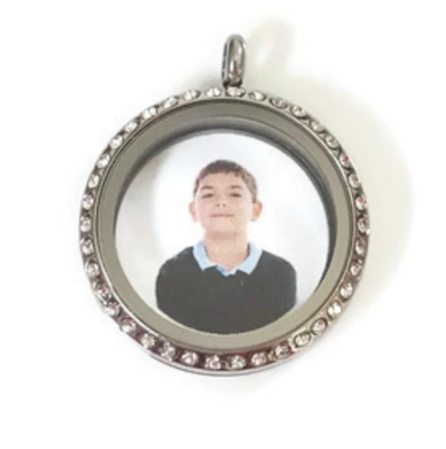 Create Your Own Floating Locket Back Plate