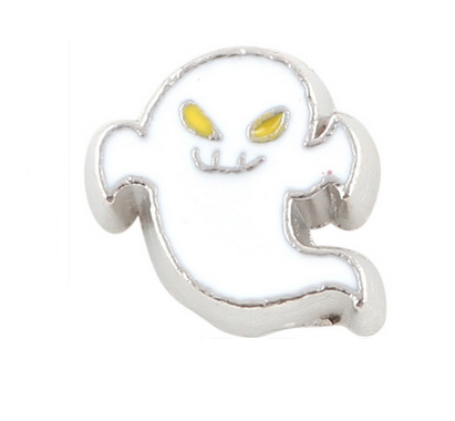 Ghost Floating Locket Charm