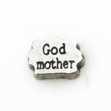God Mother Floating Locket Charm
