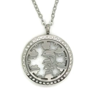 PL005 - Oil Diffuser Stainless Steel Incense Locket